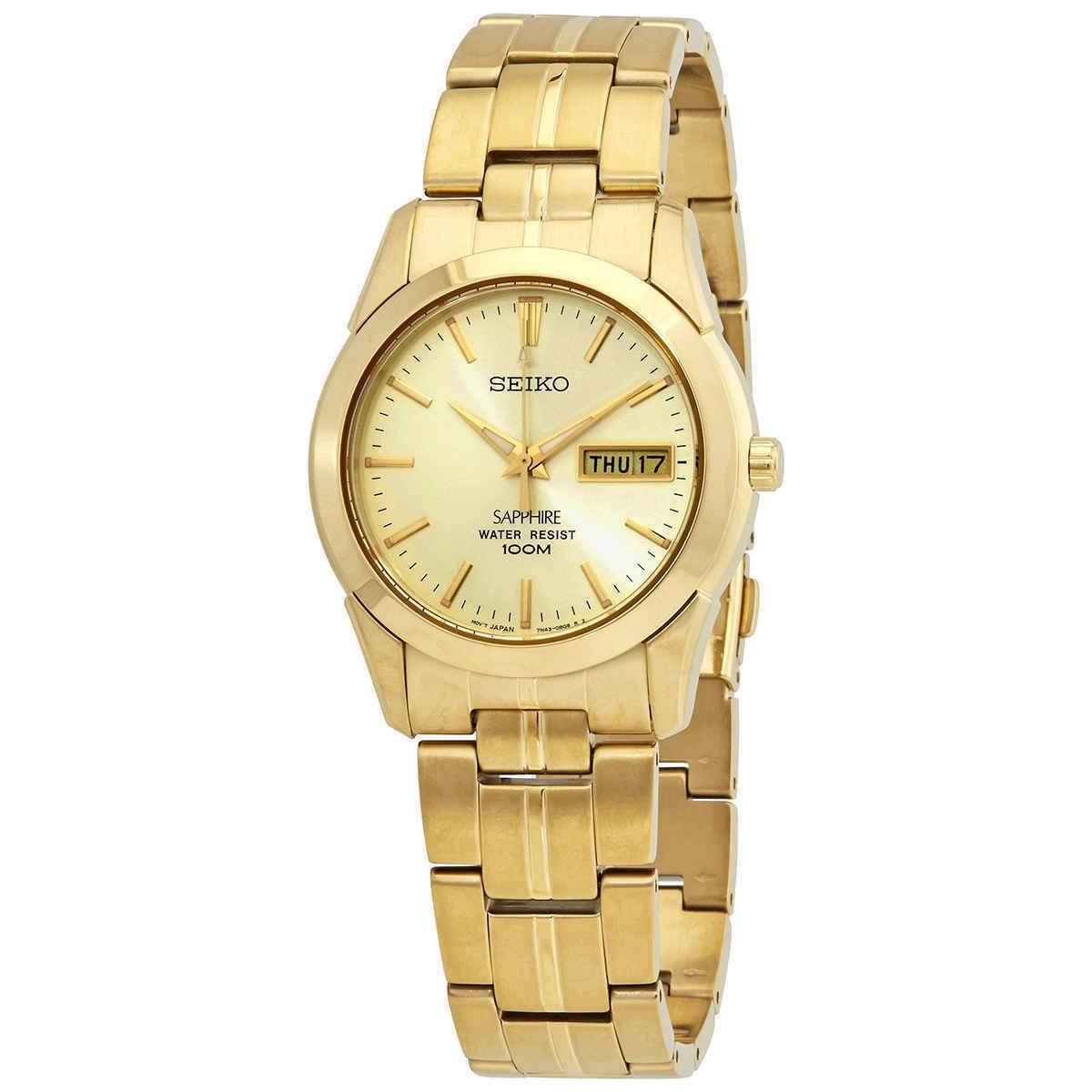 Seiko Unisex Watch Gold 4954628113849