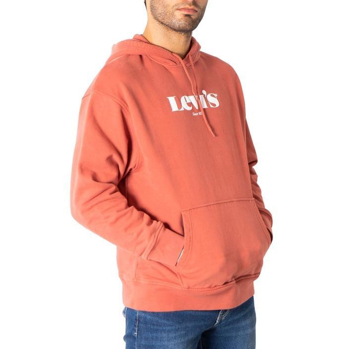 Levi`s Men's Sweatshirts Red 308218 - red XS