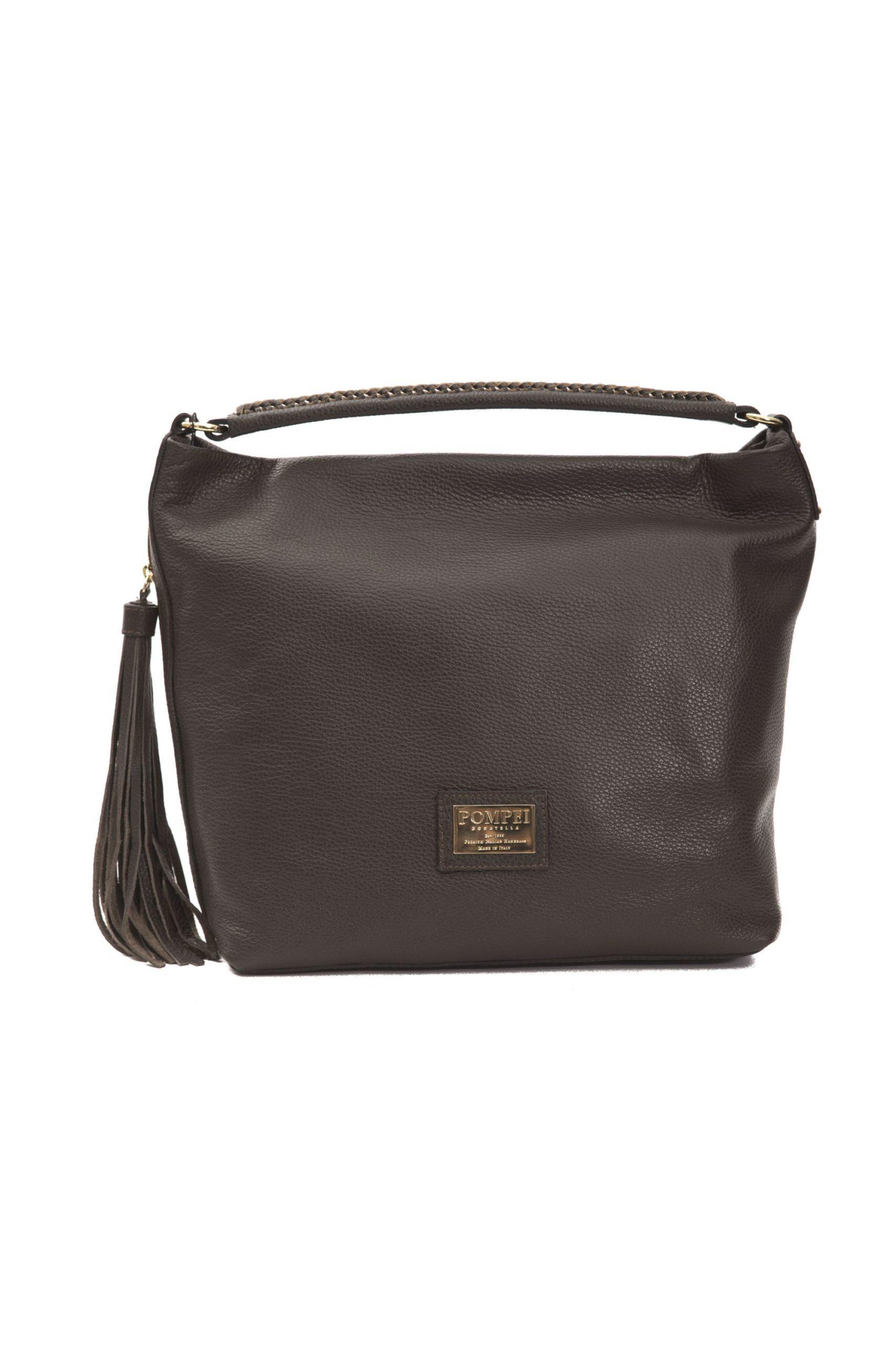 Pompei Donatella Women's Cioccolato Shoulder Bag Brown PO1004417