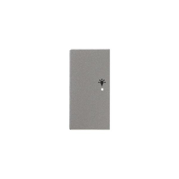 ABB Impressivo 6220-0-0156 Yksiosainen vipupainike valo, vasen Alumiini