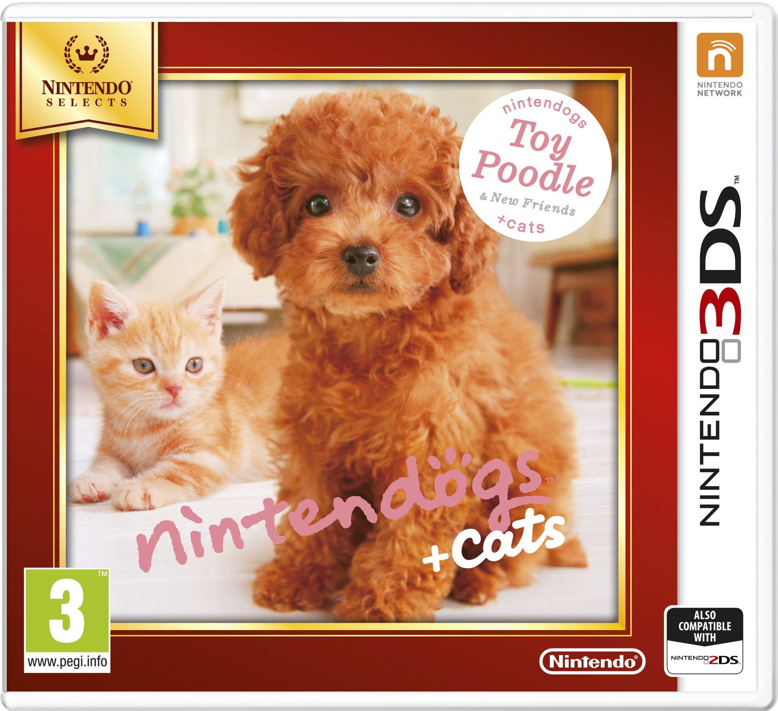 Nintendogs and Cats 3D: Toy Poodle (Select)