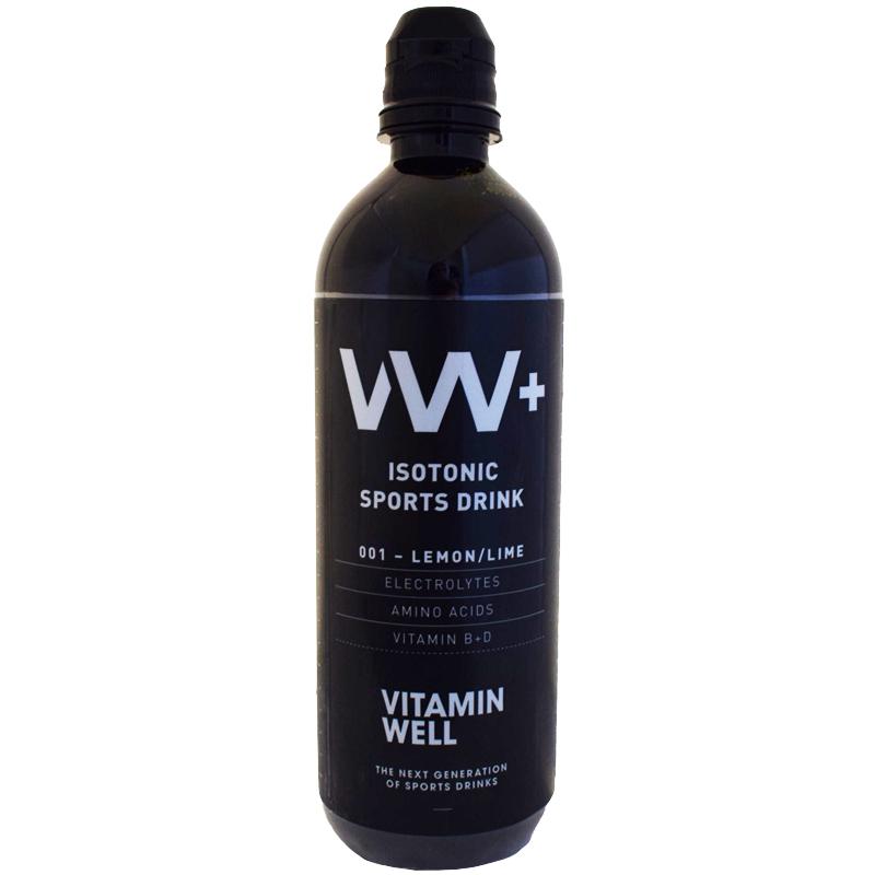 Vitamin Well+ Urheilujuoma 500ml - 84% alennus