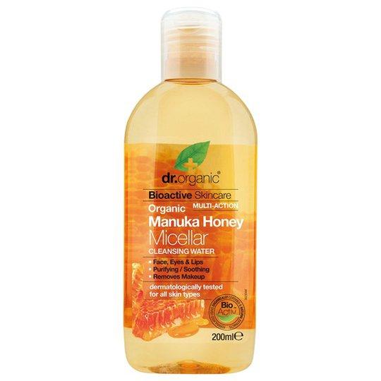 Dr. Organic Manuka Honey Micellar Cleansing Water, 200 ml