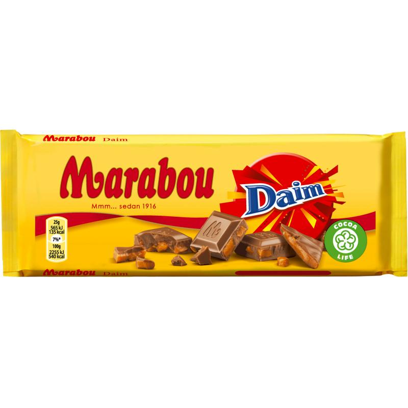 Marabou Chokladkaka Daim 100g - 80% rabatt