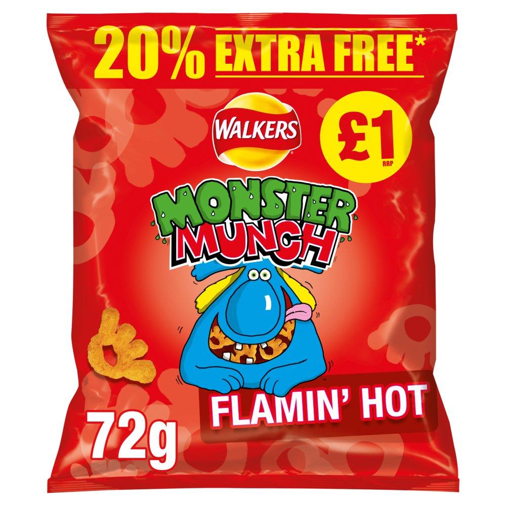 Monster Munch Flamin Hot 72g
