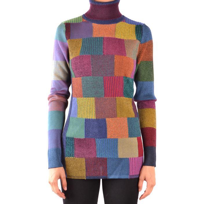 Burberry Women's Sweater Multicolor 167586 - multicolor M