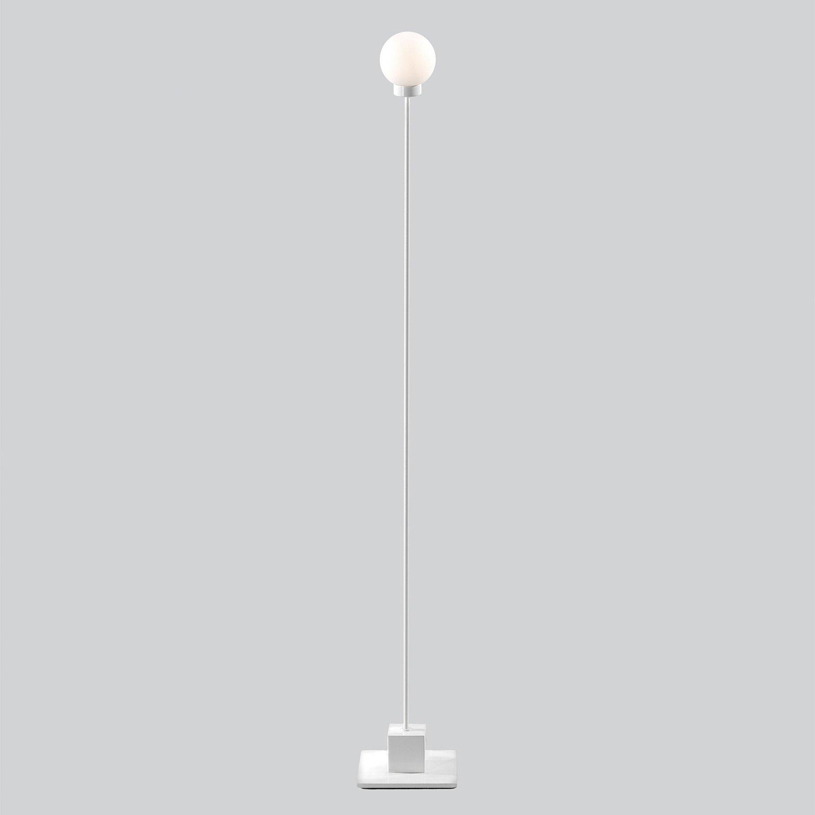 Northern Snowball gulvlampe, hvit