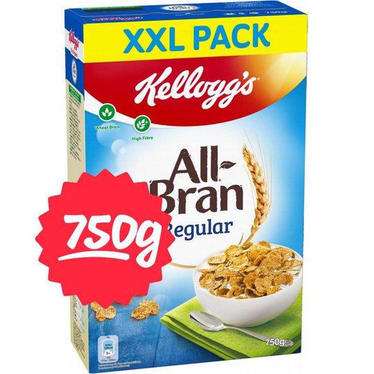 """Flingor """"All Bran XXL"""" 750g - 51% rabatt"""