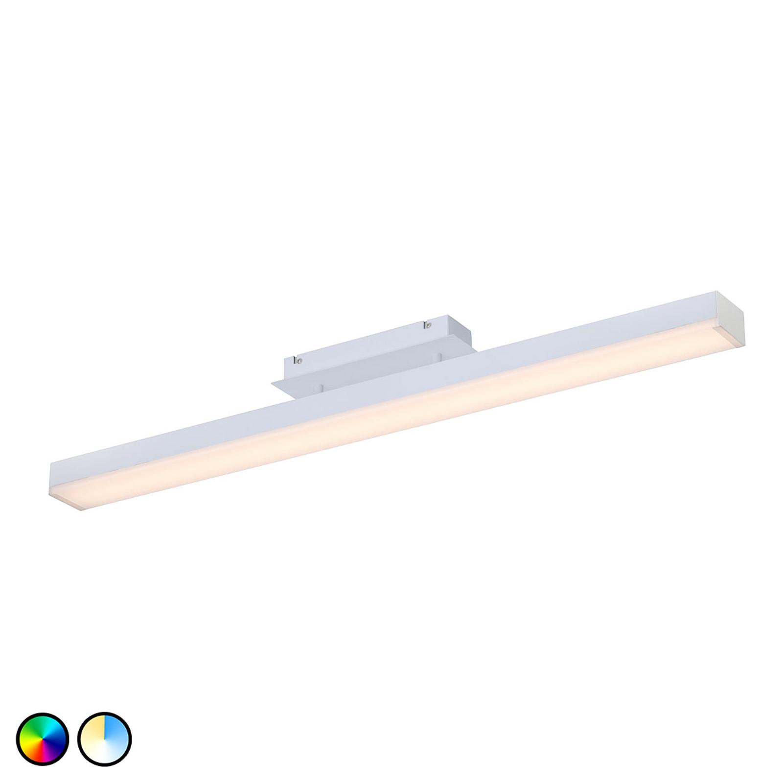 Trio WiZ Livaro LED-kattovalaisin matta valkoinen