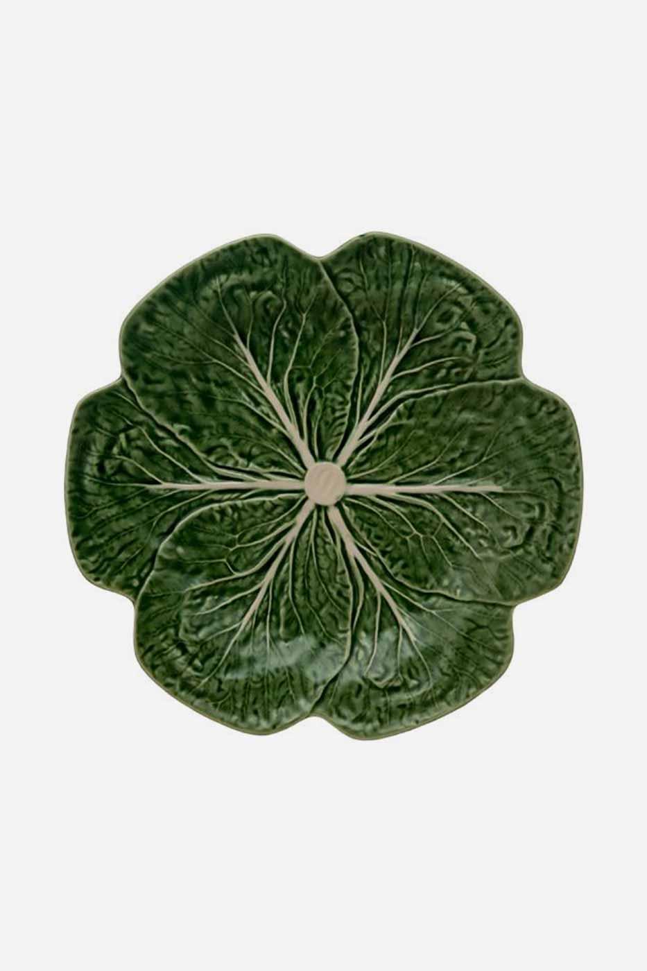 Tallrik Kål 26,5 cm grön