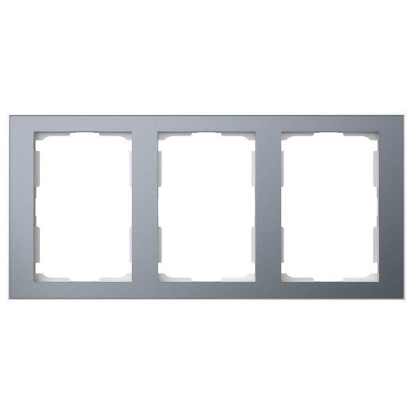 Elko EKO06915 Yhdistelmäkehys tina/alumiini 3 x 1½ lokeroa