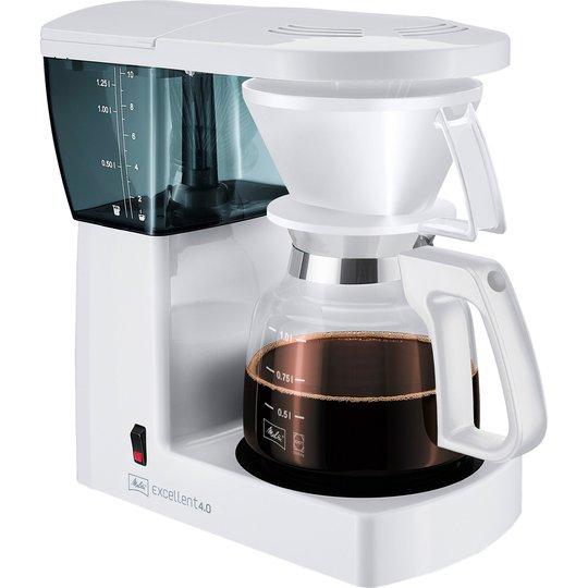 Melitta Excellent 4.0 Vit Kaffemaskin