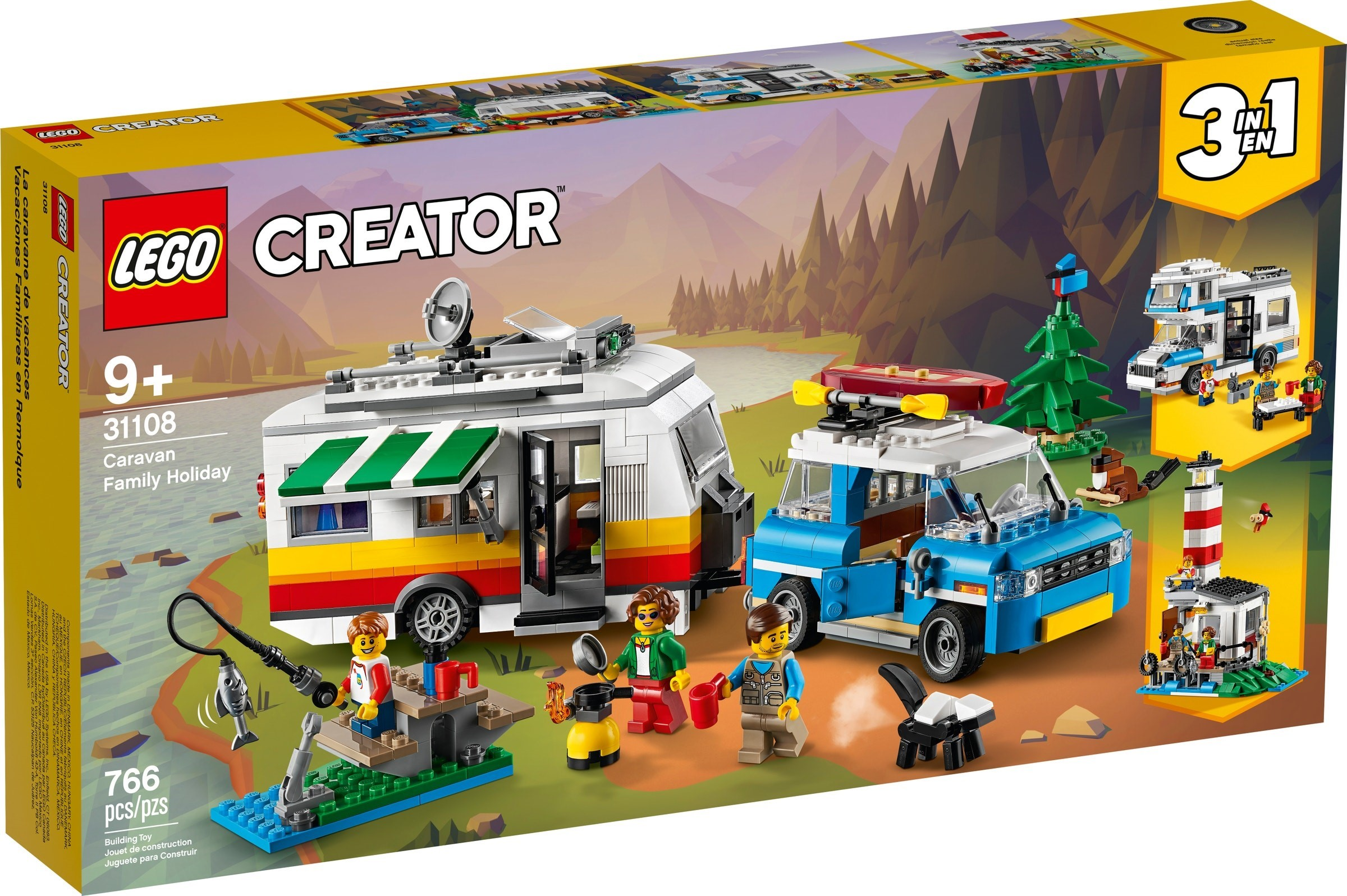 LEGO Creator - Caravan Family Holiday (31108)