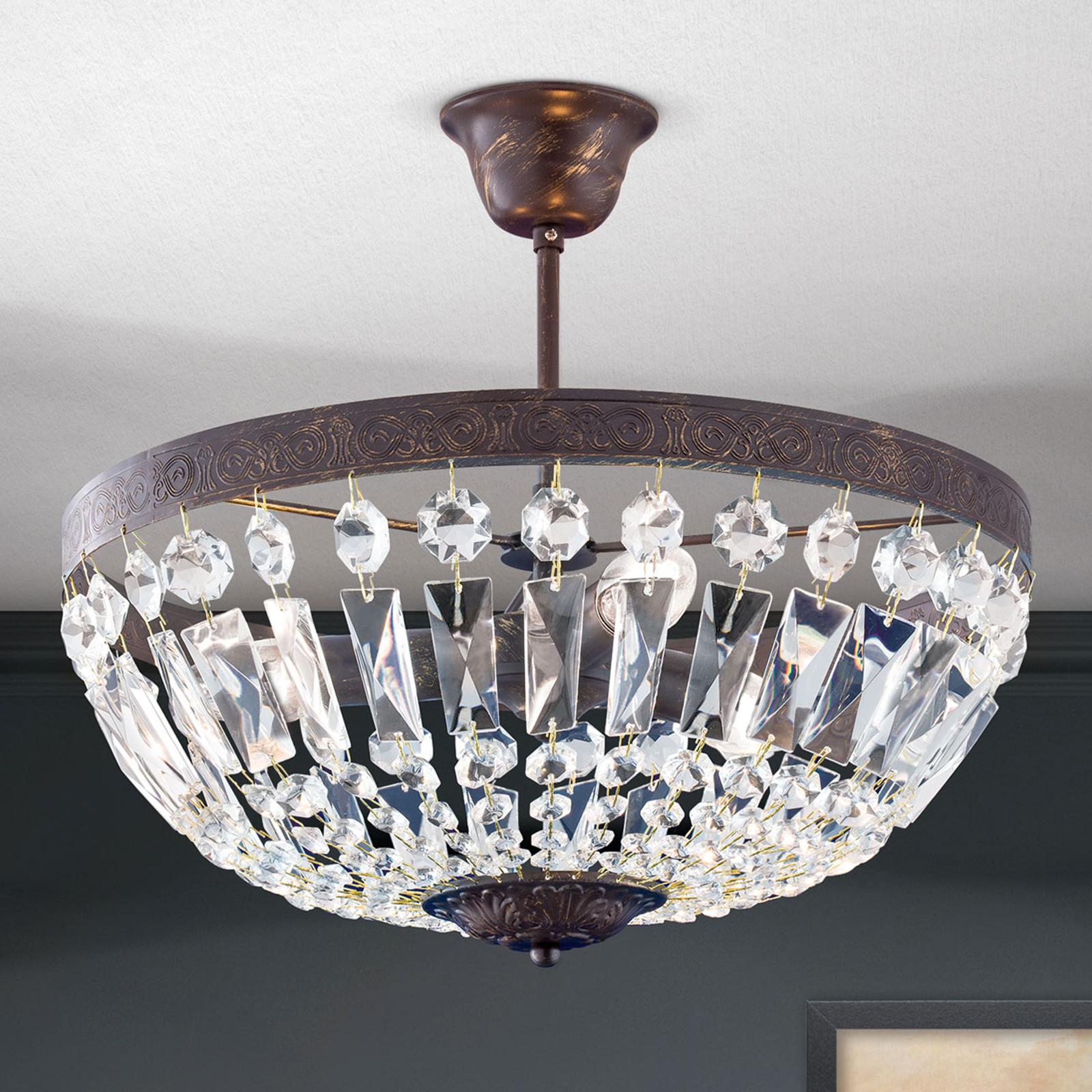 Kattovalaisin Andara, kristalliketjut, Ø 40 cm