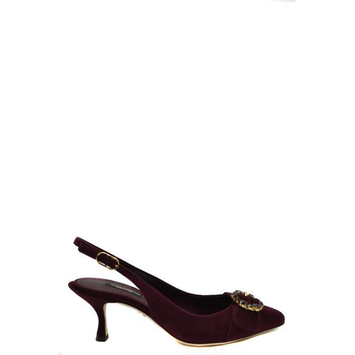 Dolce & Gabbana Women's Pumps Shoes Purple 170298 - purple 35