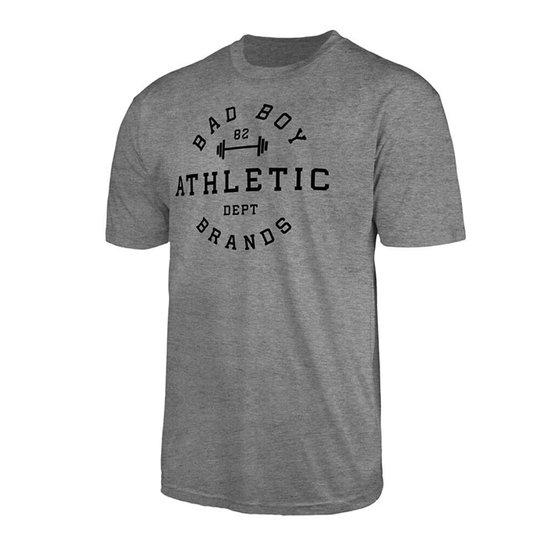 Bad Boy Athletic T-shirt, Grey