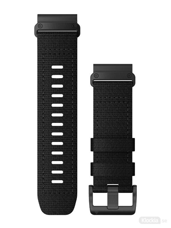 Garmin Armband 26mm QuickFit Tactical Svart Nylon 010-13010-00