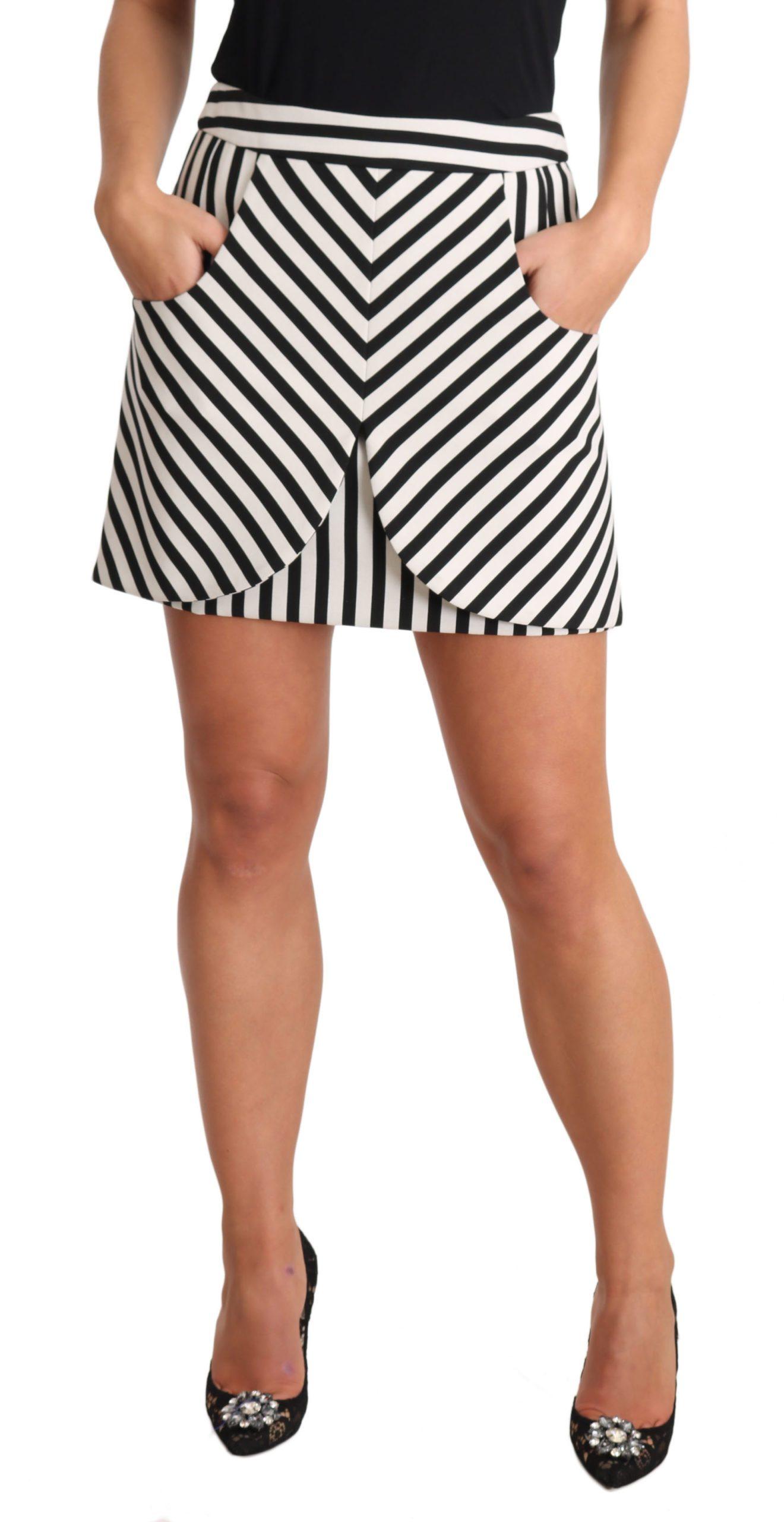 Dolce & Gabbana Women's Skirt Black SKI1310 - IT40|S
