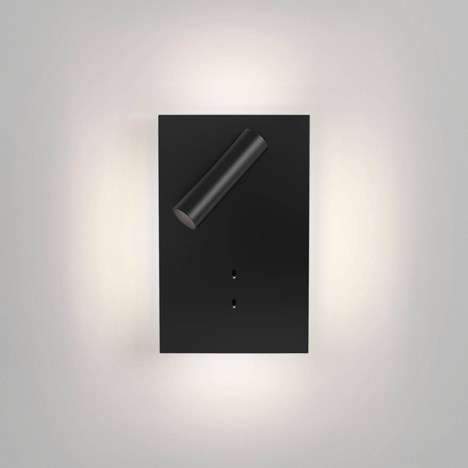 Astro Edge Reader Mini LED-vegglampe, svart