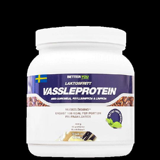 Laktosfritt Vassleprotein, 400 g