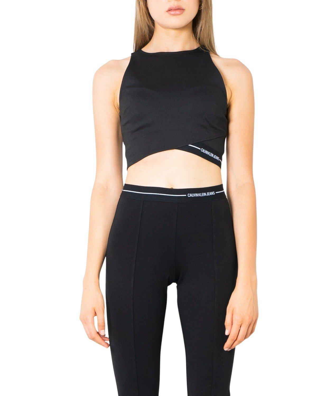 Calvin Klein Jeans Women's Tank Top Various Colours 299970 - black XS