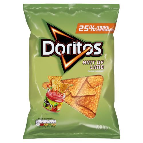 Doritos Hint Of Lime 230g