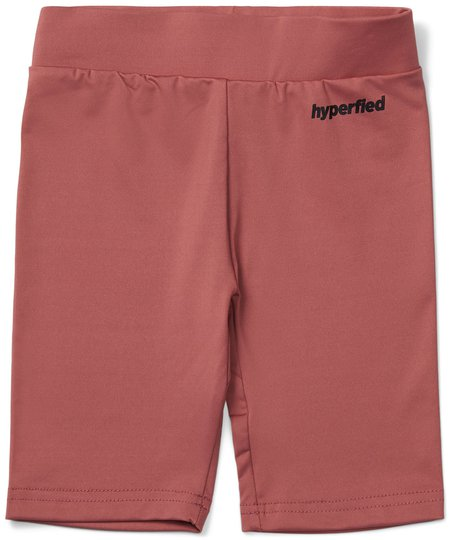 Hyperfied Biker Shorts, Withered Rose 86-92