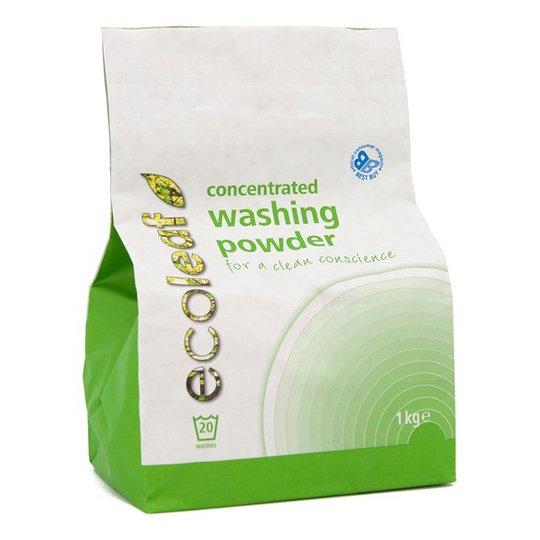 Ecoleaf Miljövänligt Tvättmedel pulver, 1 kg