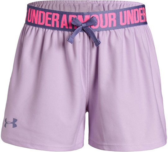 Under Armour Play Up Shorts, Purple Ace XL