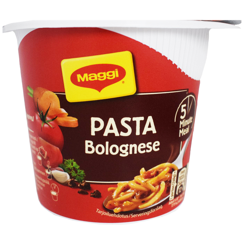 Kuppiateria Pasta Bolognese - 5% alennus