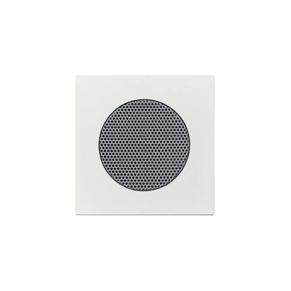 ABB Impressivo Midtplate for høytalerinnsats Hvit