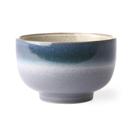 70's Skål Keramik Blå 50 cl