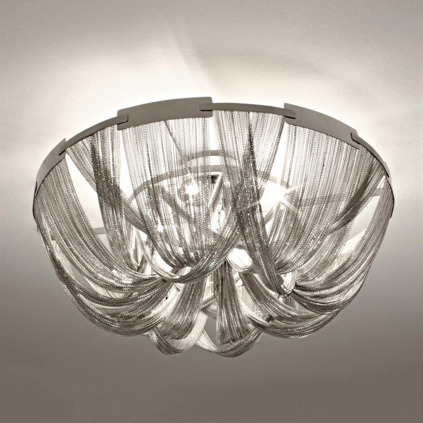 Opulent designertaklampe Soscik, 72 cm