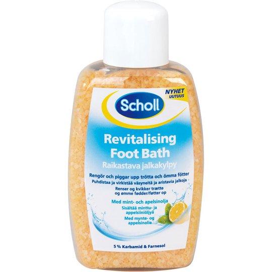 Revitalising Foot Bath, 275 g Scholl Jalkahoito