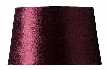Lampeskjerm Lola 26 cm - Burgundy