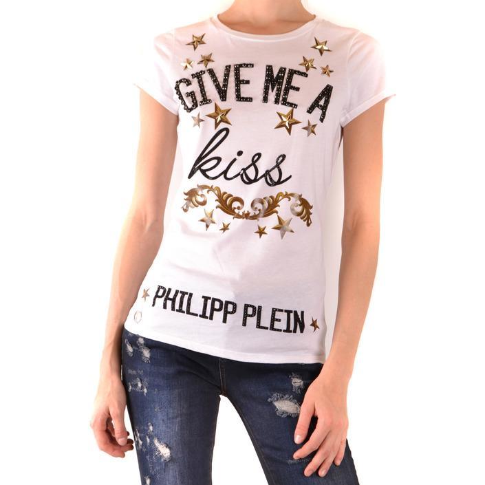 Philipp Plein Women's T-Shirt White 168870 - white M