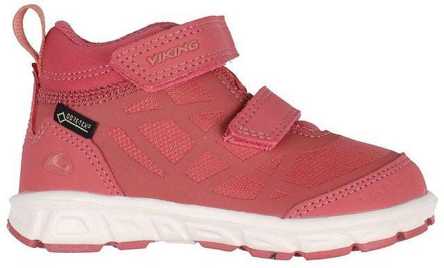 Viking Veme Mid GTX R Sneaker, Peach/Cream, 24