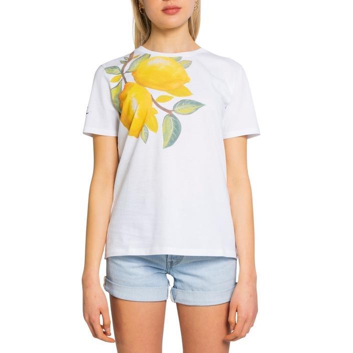 Desigual Women's T-Shirt White 198517 - white S
