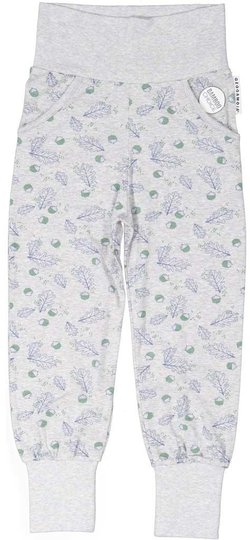 Geggamoja Bamboo Bukse, Grey Mel Oak, 50-56