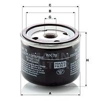 Polttoainesuodatin MANN-FILTER WK 78