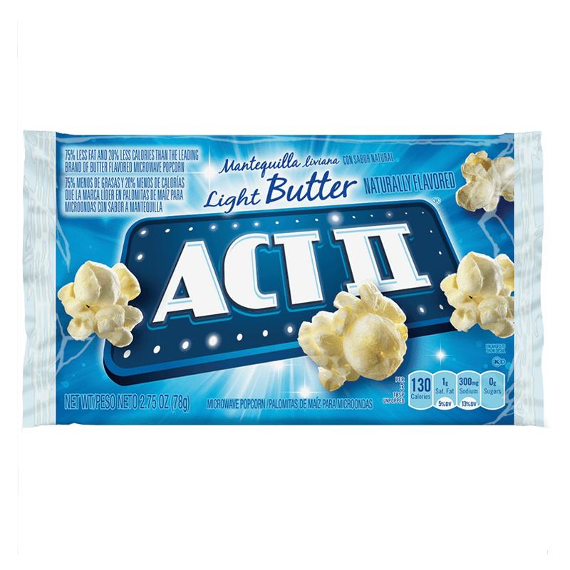 Act II Light Butter Popcorn 78g