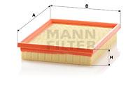 Ilmansuodatin MANN-FILTER C 2256