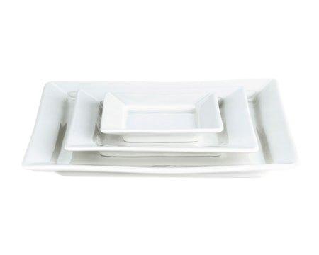 Quartet tallerken flat hvit, 11 cm