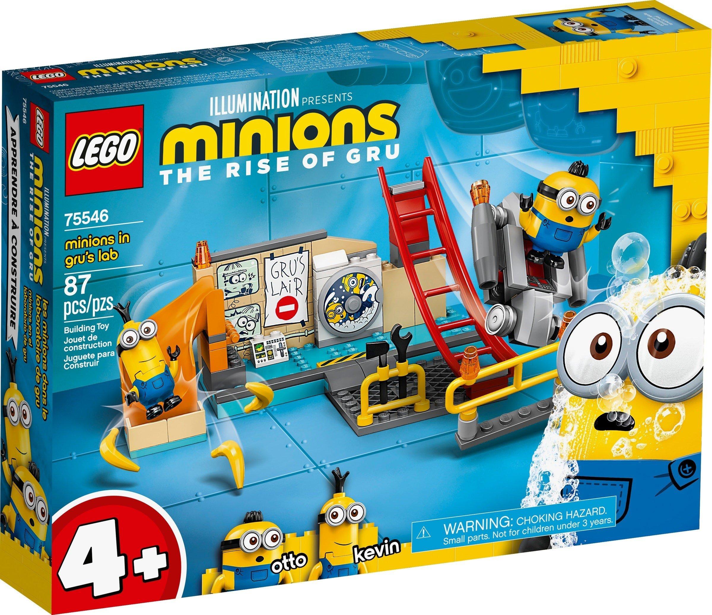 LEGO Minions - Minions in Gru's Lab (75546)