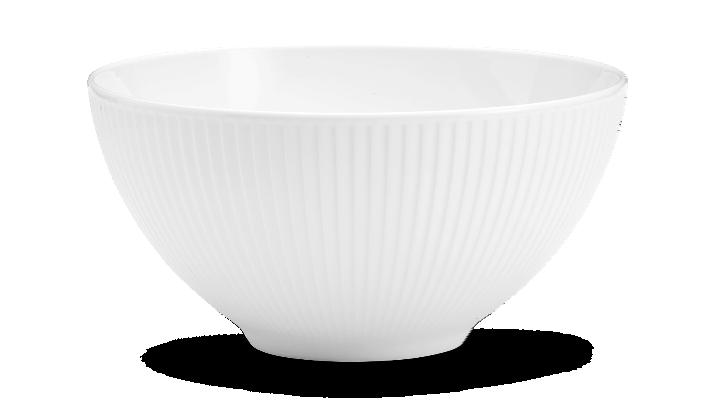 Pillivuyt - Plissé Bowl - Ø25 cm - White (174225)