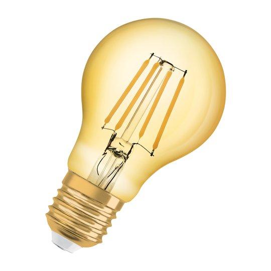 OSRAM-LED-lamppu E27 Vintage 1906 6,5W 2400K gold