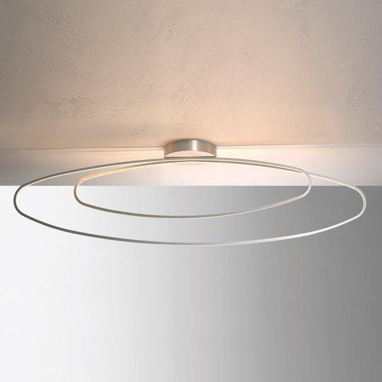 Hienotekoinen LED-kattovalaisin Flair, alumiini