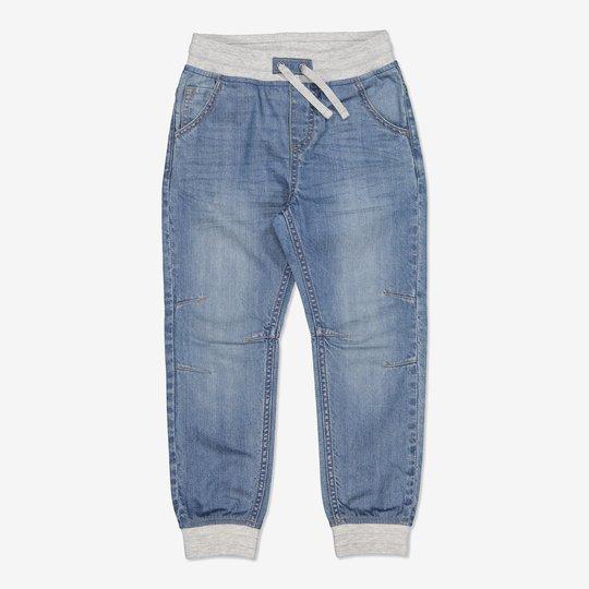 Dra-på-jeans lysdenim