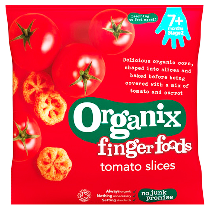"Barnmat ""Tomato Slices"" 20g - 46% rabatt"