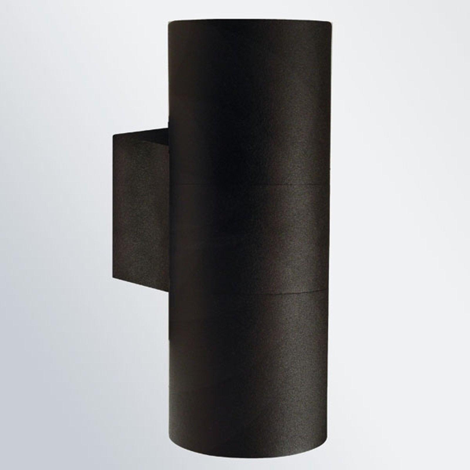 Tin Maxi Double utevegglampe svart